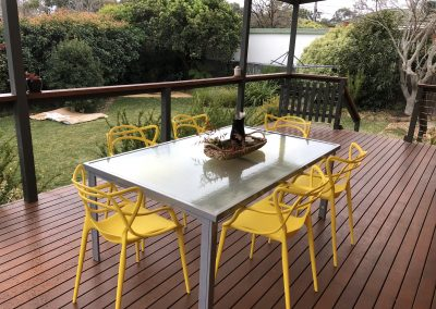 Outside living & dining home staging | Outside living & dining styling for gaining maximum property value | Modern home staging | Staged By Flynn | Home Staging | Property Styling | Canberra ACT